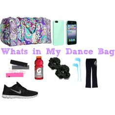 """""""What's In my dance bag!! :-)"""" by peacelovegymnastics214 on Polyvore cheap nike free 5.0 only $49, save up to 62% off for all #Nikes #Shoes"""