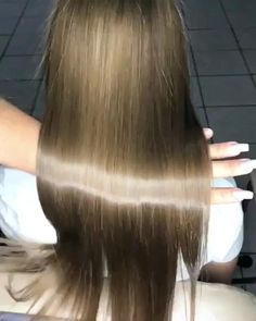 Long Hair With Bangs, Braids For Long Hair, Long Hair Cuts, Long Hair Styles, Blonde Hair Inspiration, Brown Hair Looks, Beauty Hacks Lips, Indian Long Hair Braid, Soften Hair