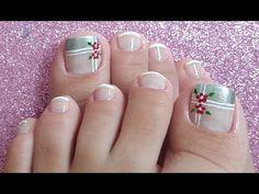 Color Borgoña Decoración Otoño e Invierno para las uñas de los pies/ Burgundy color toe nail art - YouTube Toe Nail Art, Toe Nails, Nail Art Pieds, Gel Toes, Sassy Hair, Manicure E Pedicure, Toe Nail Designs, Pretty Little, Pretty Nails
