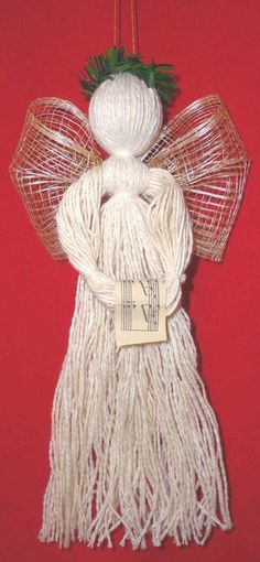 Thrums Angel Ornament