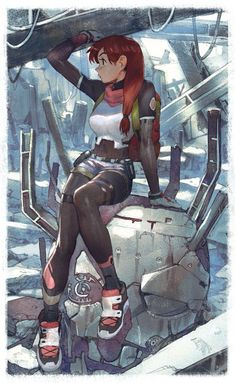 A place for your love for future aesthetics and anime art. Female Character Design, Character Concept, Character Art, Concept Art, Character Education, Cyberpunk Kunst, Female Superhero, Anime Superhero, Hero Costumes