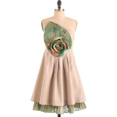 Ryu Country Cupcakes Dress ($45) ❤ liked on Polyvore featuring dresses, modcloth, vestidos, pink slip dress, ryu dresses, rouched dress, pink dress and stretchy dresses