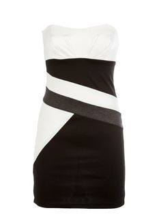 Colorblock Tube Dress- SO CUTE and on sale, too!