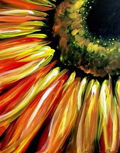 We host painting events at local bars. Come join us for a Paint Nite Party! Easy Canvas Painting, Painting & Drawing, Canvas Art, Simple Acrylic Paintings, Sunflower Art, Sunflower Paintings, Paint Party, Painting Inspiration, Art Photography