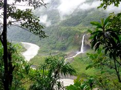 There's a reason Ecuadorians call this area 'bathroom' in Spanish. There is no shortage of water here and you'll find numerous waterfalls within Banos. The End, End Of The World, Lust For Life, Trek, Globe, Spanish, Waterfall, River, Adventure