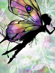 The Jasmine Fairy Fairy Dust, Fairy Land, Fairy Tales, Unicorn And Fairies, Fairy Silhouette, Fairy Tattoo Designs, Kobold, Fairy Pictures, Love Fairy