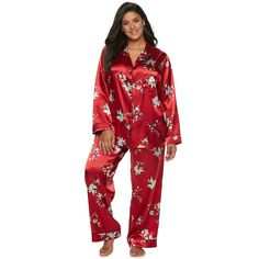 bcf0e8f7637 Plus Size Apt. 9® Satin Pajama Set