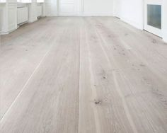 Wide plank flooring with white cabinets and soapstone. Pvc Flooring, Wooden Flooring, Hardwood Floors, Pine Floors, Decoration Inspiration, Floor Colors, Flooring Options, Floor Design, My New Room