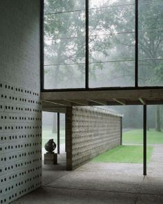 Sonsbeek Pavilion, 1955, Kröller-Müller Museum, Otterlo, The Netherlands | Gerrit Rietveld