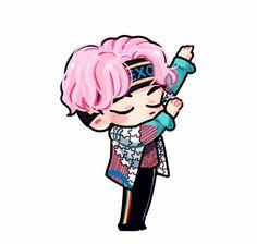 Chanyeol by cookie Power Kpop Exo, Park Chanyeol, Baekhyun, Exo Chanbaek, Chibi Exo, Exo Stickers, 5 Years With Exo, Exo Red Velvet, Exo Anime