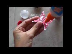 Borboletas feitas de Rolinho de Papel Higiênico