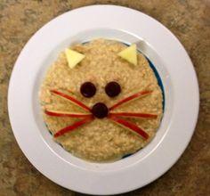 Kitty oatmeal