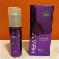 ⚡NEW⚡HEMPZ COUTURE OIL TREATMENT ✴✴✴NEW✴✴✴ Hempz Couture Oil Treatment  AUTHENTIC HEMPZ OIL  Hempz Couture Oil Treatment instantly absorbs into hair leaving no oily residue. Helps smooth, seal split ends, control frizz and protect hair against thermal heat damage. With 100% natural hemp seed oil, sunflower seed oil. Paraben-free, gluten-free, vegan. 3.4 fl oz. HEMPZ Accessories Hair Accessories