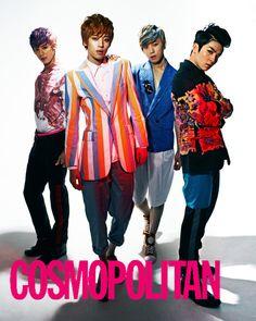 Teen Top // Cosmopolitan Korea