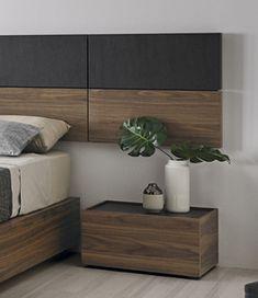 DESTACADA loto Room Design Bedroom, Modern Bedroom, Modern Bedding, Home Design Diy, Home Room Design, Side Tables Bedroom, Wood Bedroom Furniture, Luxury Bedding Collections, Bedroom Color Schemes