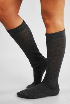 It's Just Right Socks: Charcoal #shophopes