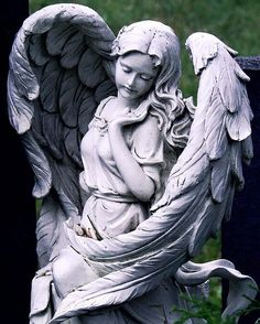 angel, statue, and sculpture image Statue Tattoo, Cemetery Angels, Cemetery Art, Angels Among Us, Angels And Demons, Art Masculin, Statue Ange, Angel Art, Angel Numbers
