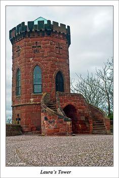 Laura's Tower, Shrewsbury Castle, Shrewsbury, England