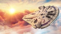 Every scene of the Falcon in action from Solo: A Star Wars Story! Check out my latest Millennium Falcon supercut from Star Wars: The Rise Of Skywalker! Star Wars Icons, Star Wars Poster, Star Wars Art, Lego Star Wars, Star Trek, Millennium Falcon, Nave Star Wars, Lando Calrissian, Star Wars Ships
