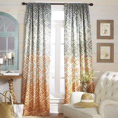 Sunset Diamond Curtain