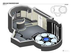 Nova Class - Transporter Room by falke2009 on DeviantArt