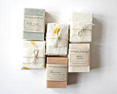 Handmade Vegan Soap packaging