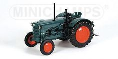 HANOMAG R28 - FARM TRACTOR - 1953 - Tractors - Big machines - Die-cast | Hobbyland Scale model 1:18 manifactured by Minichamps.