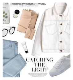 """Denim style"" by yexyka ❤ liked on Polyvore featuring Kershaw and Bobbi Brown Cosmetics"