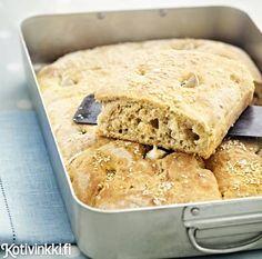 Valkosipulileipä | Kotivinkki