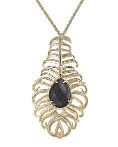 Letty Necklace in Black - Kendra Scott Jewelry
