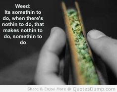 Weed quote.