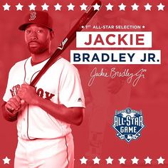 JBJ gets the start in the outfield! Congrats, Jackie!  7/5/16