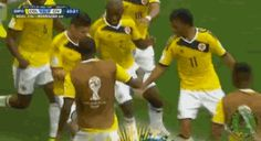 Hips Don't Lie: Colombia Has the Best World Cup Celebration : mashable - 6/19/14  #WorldCup2014