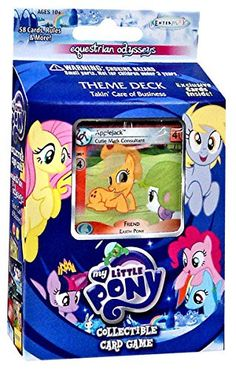 My Little Pony Friendship is Magic Equestrian Odysseys Takin' Care of Business Theme Deck