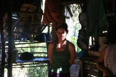 Sierra del Escambray (Cuba) con Mary.