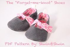 Forget Me Knot Shoes | Craftsy