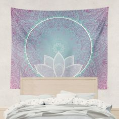 Lotus Mandala Tapestry Wall Hanging Art Meditation Yoga BuddhaClick the link now to find the center in you with our amazing selections of items ranging from yoga apparel to meditation space decor!