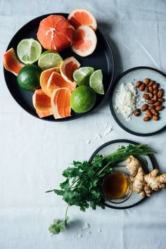 Thai Style Grapefruit and Radicchio Salad | TENDING the TABLE #vegetarian #salad