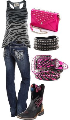 country with a bit of zebra -- this couldn't be more perfect for me! haha