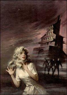 gothic romance paperback art | Lynn Munroe Books - George Ziel