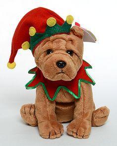 Elfis - Dog - Ty Beanie Babies Beanie Baby Dog da91d6c77713