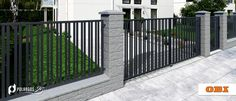 Modern Fence Design, Belfast, Deck, Stairs, Outdoor Structures, Outdoor Decor, Home Decor, Stairway, Decoration Home