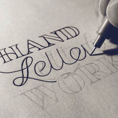 <p>Calligraphy is back.</p>