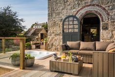 Unique Cornish engine house for luxury self-catering breaks in Cornwall