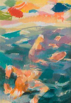 """""""En la Ola """" Autor:Juan Carlos Castagnino (1967) - Acrílico sobre tela…"""