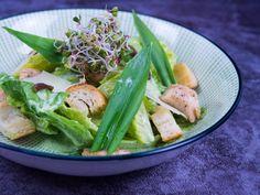 Caesar salát s medvědím česnekem I Chef, Celery, Green Beans, Vegetables, Food, Meal, Veggies, Essen, Vegetable Recipes