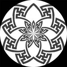 Swastika Lotus