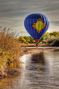 Above the Rio Grande