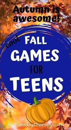 Fall Games for Teens