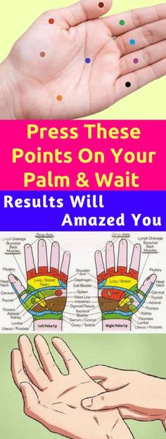 Press These Points On Your Palm & Wait The Results Will Amazed You!!! - All What You Need Is Here